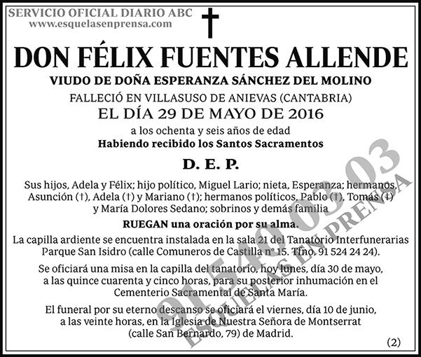 Félix Fuentes Allende